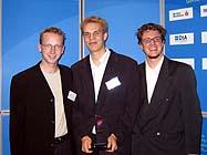 Das Team bei der Preisverleihung in Berlin